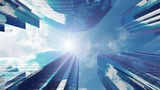 SkyScraper Ba3 HD stock footage