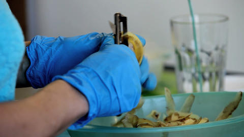 potato Stock Video Footage
