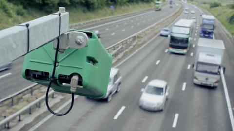 Motorway Traffic Footage