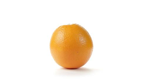 Orange Rotation Footage
