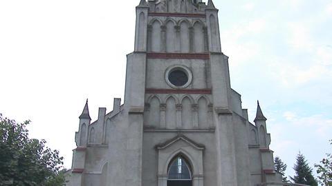 kostel zabolotiv 3 Stock Video Footage
