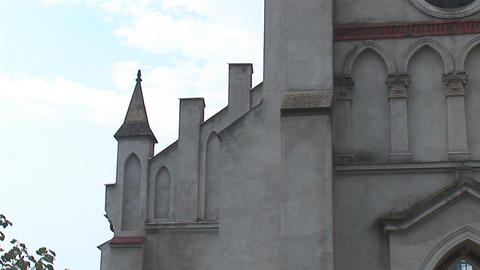 kostel zabolotiv 6 Stock Video Footage