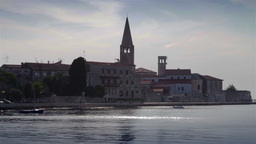 Porec city, Croatia Footage