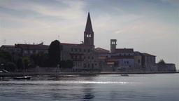 Porec city, Croatia Footage