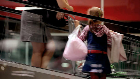 Shopping stock footage