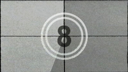 Film Countdown Leader Animation