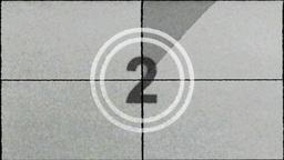 Film Countdown Leader Stock Video Footage