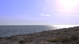 Rocky coast in Istria Footage