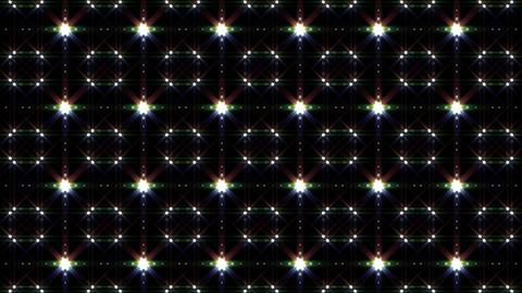 LED Light Kaleidoscope C1BiK1 HD Stock Video Footage
