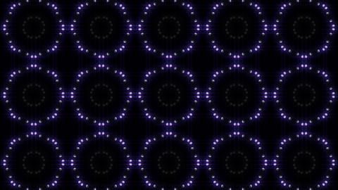LED Light Kaleidoscope C1BiK3 HD Stock Video Footage