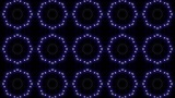 LED Light Kaleidoscope C1BiK3 HD stock footage