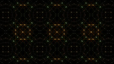 LED Light Kaleidoscope C1BoK2 HD Stock Video Footage