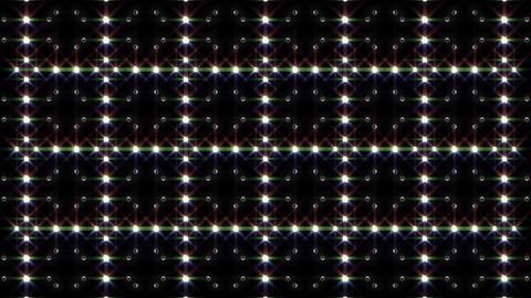 LED Light Kaleidoscope F1BiK1 HD Stock Video Footage
