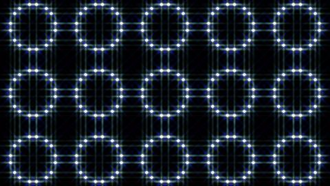 LED Light Kaleidoscope F1BiK3 HD Stock Video Footage