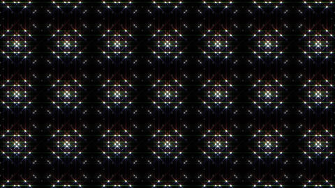 LED Light Kaleidoscope P1BiK1 HD Stock Video Footage