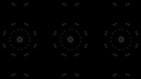 LED Light Kaleidoscope P1BoK1 HD Stock Video Footage