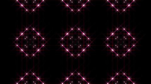 LED Light Kaleidoscope P1BoK3 HD Stock Video Footage