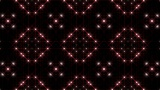 LED Light Kaleidoscope P1BoK3 HD stock footage