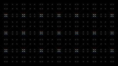 LED Light Kaleidoscope W1BiK1 HD Animation