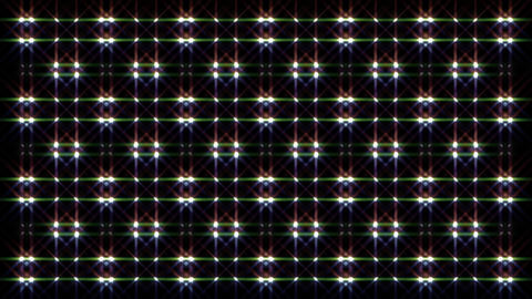 LED Light Kaleidoscope W1BiK1 HD Stock Video Footage