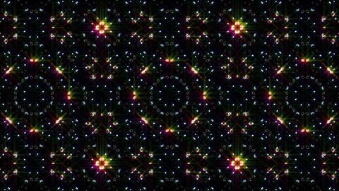 LED Light Kaleidoscope W1BiK3 HD Stock Video Footage