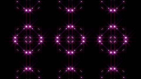 LED Light Kaleidoscope W1BoK3 HD Stock Video Footage