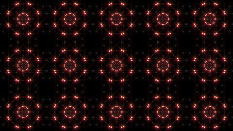 LED Light Kaleidoscope P1BiK3 HD Stock Video Footage