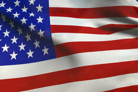 Flag of America Stock Video Footage