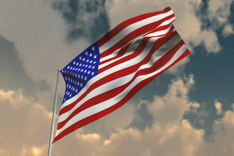 Flag of America Animation