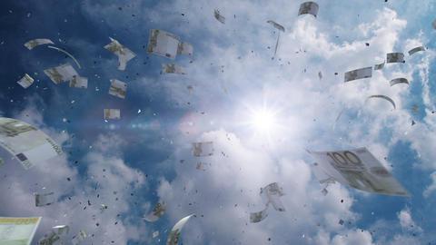SkyScrayper Ac7 euro HD Stock Video Footage