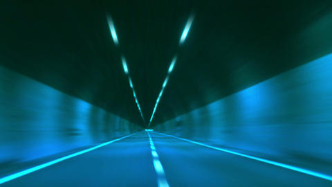 tunnel abstract speed 13 Footage