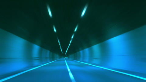 tunnel abstract speed 13 Stock Video Footage