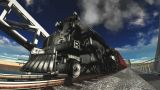 Steam Locomotive stock footage