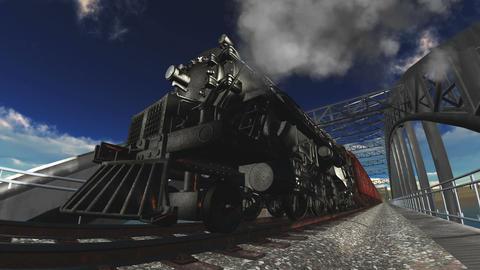 steam locomotive Stock Video Footage
