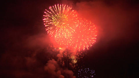 firework 33b Stock Video Footage