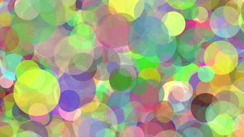 Color Circles Flight Abstract Background Loop stock footage