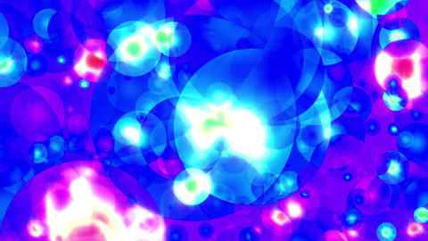 Cosmic Balls Flight 2 psychedelic vj loop, Stock Animation