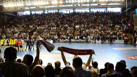 Handball match Footage