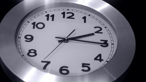 Clock Black n White Time Lapse Footage