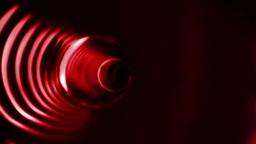 Red vortex design on black Animation