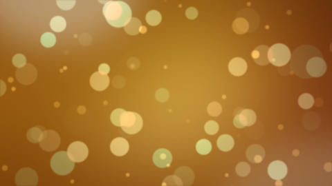 Bookeh Loop Gold Glitter Animation