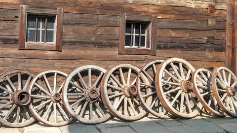 wooden wheels Live Action
