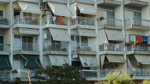 Hotel On Summer Resort Footage
