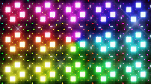 LED Light Kaleidoscope F3Bok2 HD Stock Video Footage