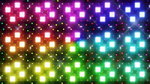 LED Light Kaleidoscope F3Bok2 HD Stock Video Footage