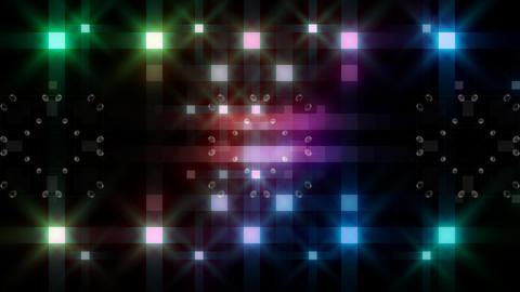 LED Light Kaleidoscope F3Bok4 HD Stock Video Footage