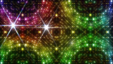 LED Light Kaleidoscope P2BiK4 HD Stock Video Footage