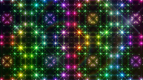 LED Light Kaleidoscope P2BoK3 HD Animation