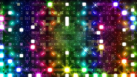 LED Light Kaleidoscope P3BoK6 HD Stock Video Footage