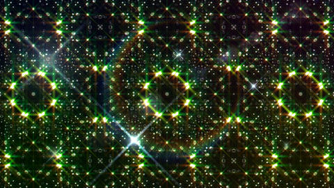 LED Light Kaleidoscope W2BiK3 HD Stock Video Footage